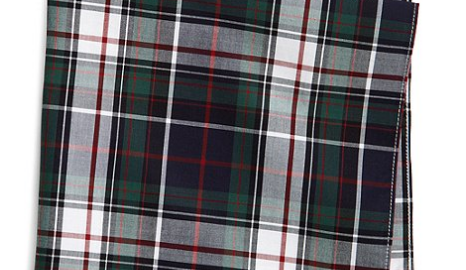 Brooks Brothers Tartan Pocket Square