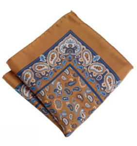 Paul Fredrick Paisley Pocket Square