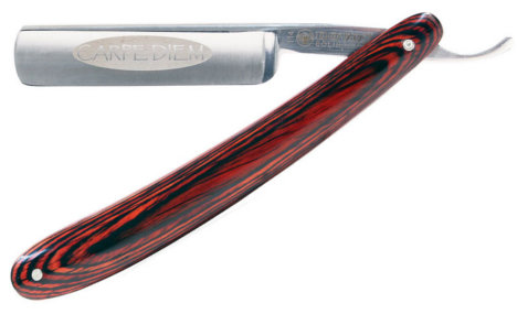 Dovo Carpe Diem Full Hollow Carbon Steel Straight Razor