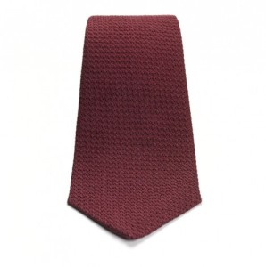 Turnbull & Asser Burgandy Grenadine Tie