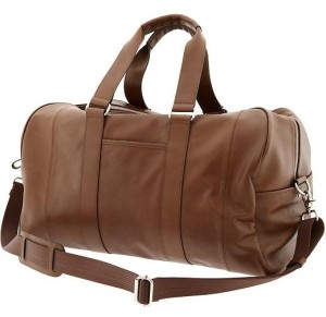 Banana Republic Leather Duffel Bag