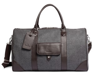 Brooks Brothers Wool Duffle Bag