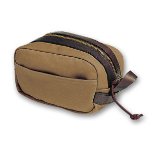 Filson Dopp Kit Side View