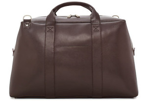 Jack Spade Wesson Leather Wayne Duffle Bag