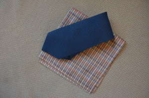 Sam Hober Grenadine Tie & Pocket Square