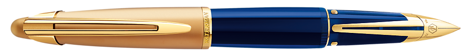 Waterman Edson Sapphire Blue Fountain Pen