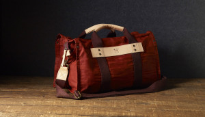 Will Leather Wax Coated Canvas Duffle Bag