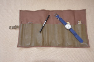 Timex Watch & Watch Roll