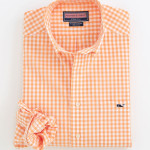Vinyard Vines Orange Gingham Sport Shirt.jpg