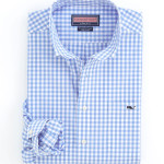 Vinyard Vines Sky Blue Gingham Sport Shirt.jpg