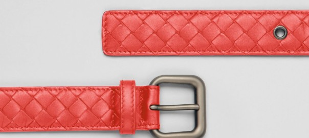 bottega-vaneta-belt-orange