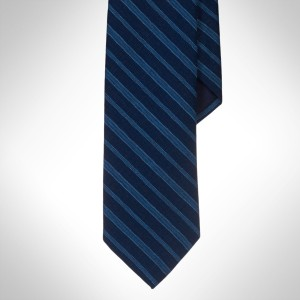 Polo Ralph Lauren Narrow Indigo Dyed Striped Tie
