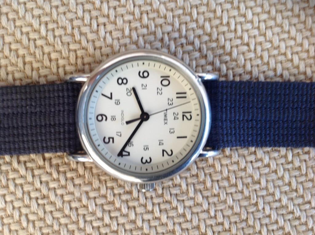 Timex Weekender Watch Face