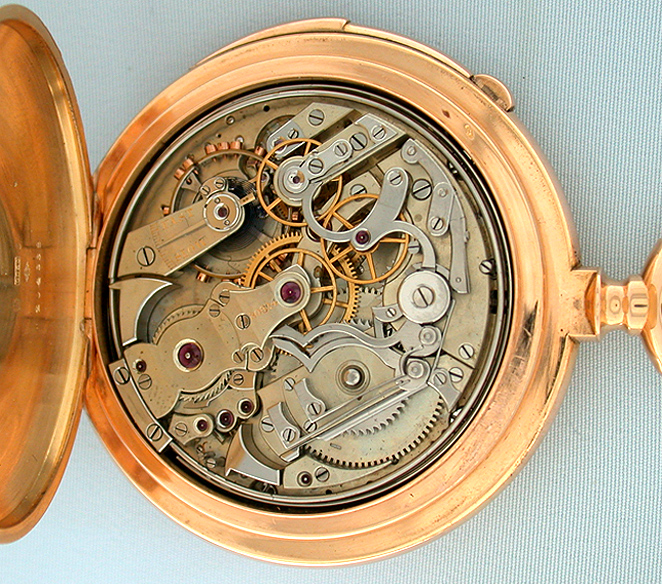 Patek Phillip Antique Pocket Watch Back