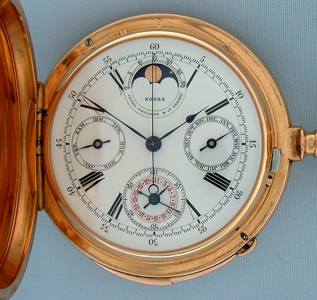 Patek Phillip Antique Pocket Watch Front