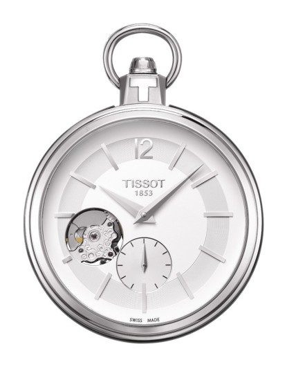 Tissot Pocket 1920 Mechanical Men's Silver Pocket Watch