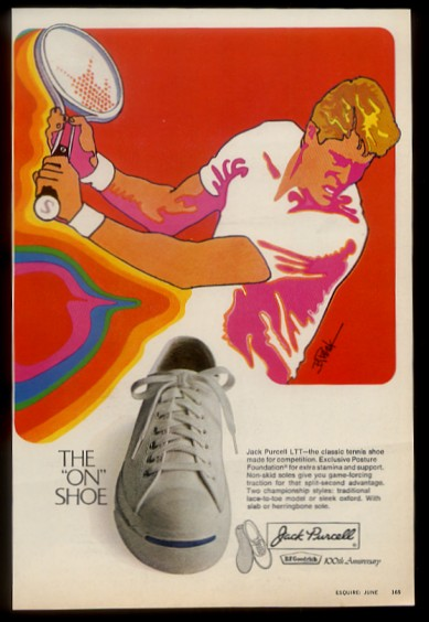 bf goodrich jack purcell ad