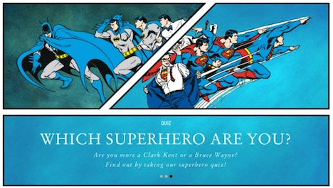 Berluti Which Superhero Are You?