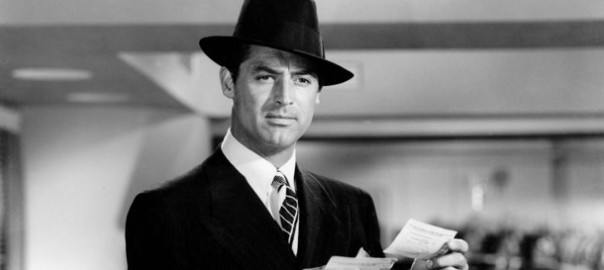 Cary Grant in fedora