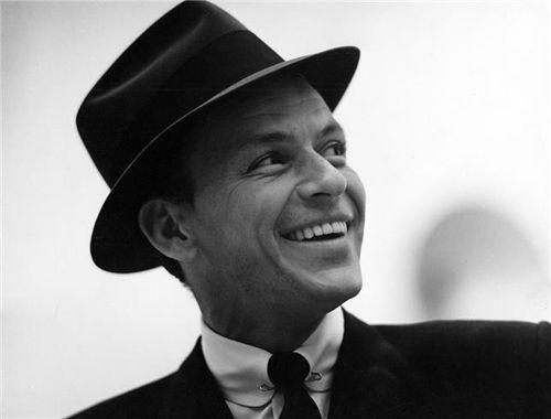 Frank Sinatra in a fedora