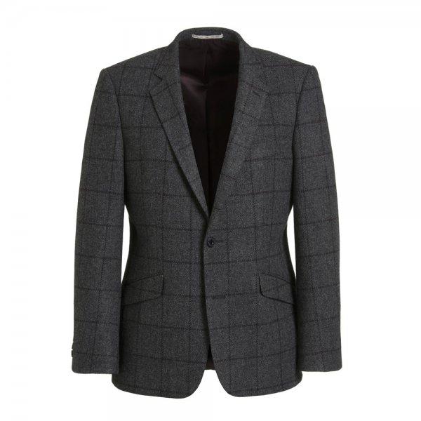 magee 1866 charcoal tweed jacket