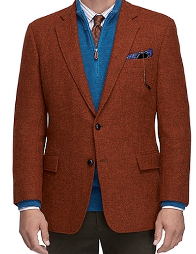 Brooks Brothers Rust Blazer