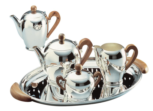 alessi bombe tea and coffee service