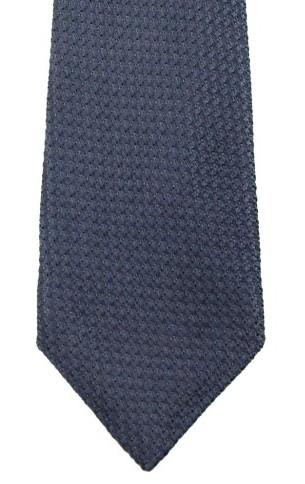 kent wang steel blue grenadine tie