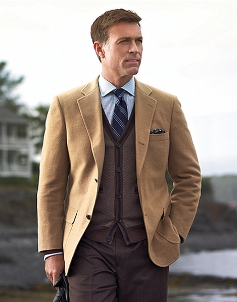 brooks brothers camel hair sport coat