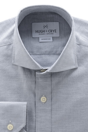 hugh and crye herringbone dress shirt