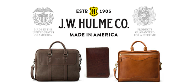 JW Hulme American Made Leather Goods