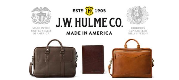 JW Hulme American Made Leather Goods