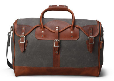 jw hulme canvas duffle bag