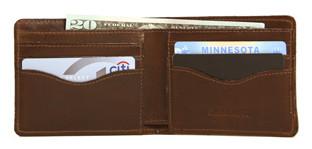 jw hulme classic bifold wallet