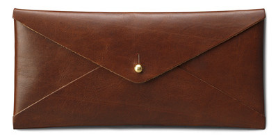 jw hulme leather envelope