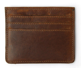 jw hulme slim card wallet