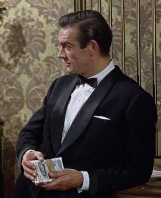 sean connery dr no shawl collar tuxedo