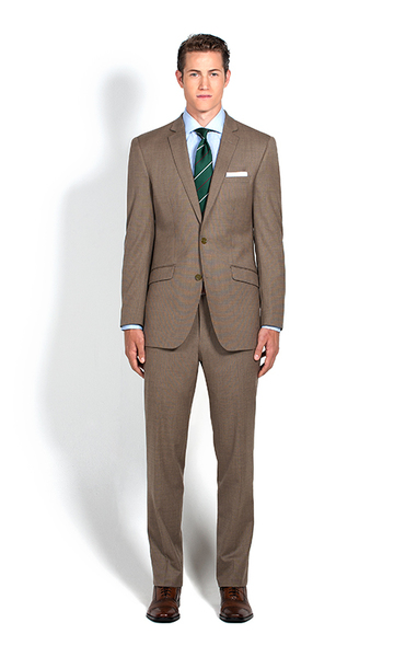 combatant gentleman brown suit