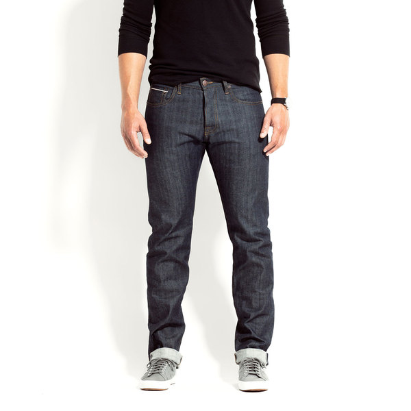 combatant gentleman indigo selvedge denim jeans