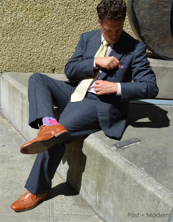 Vintage Oxxford Summer Suit
